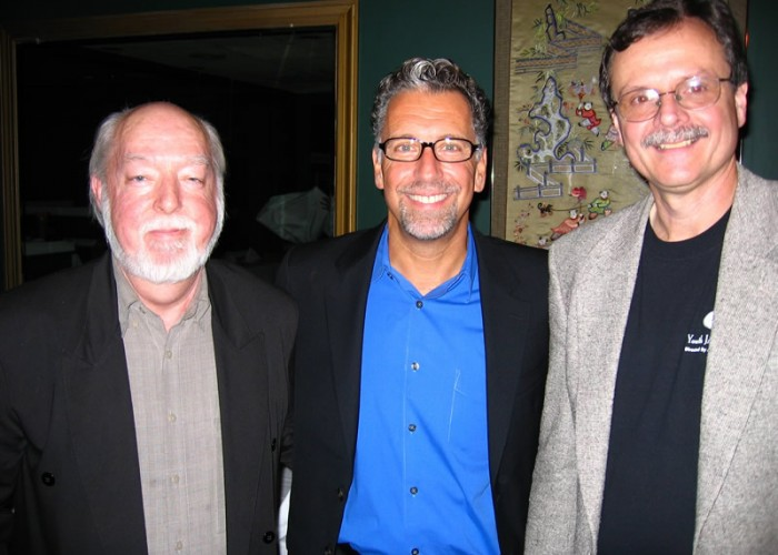 Jerry Vezza with Glenn Davis and Gary Mazzaroppi at Shanghai Jazz