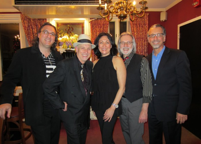 Jerry with Grover Kemble and Zaz Zu Zaz